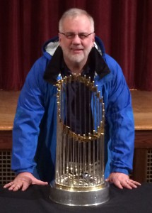 world series trophy 2013